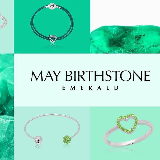 The Birthstone For May Emerald Symbolizes Youth Good Fortune And