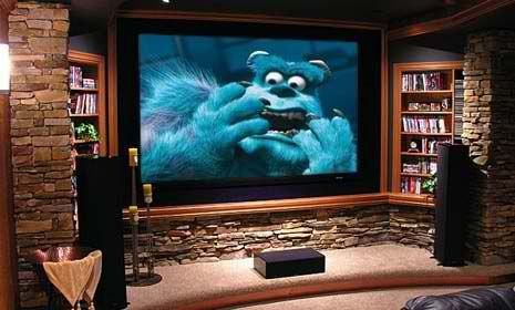 Stone Home Theater Room By Fendy Home Theater Installation Home Theater Setup Home Theater Rooms