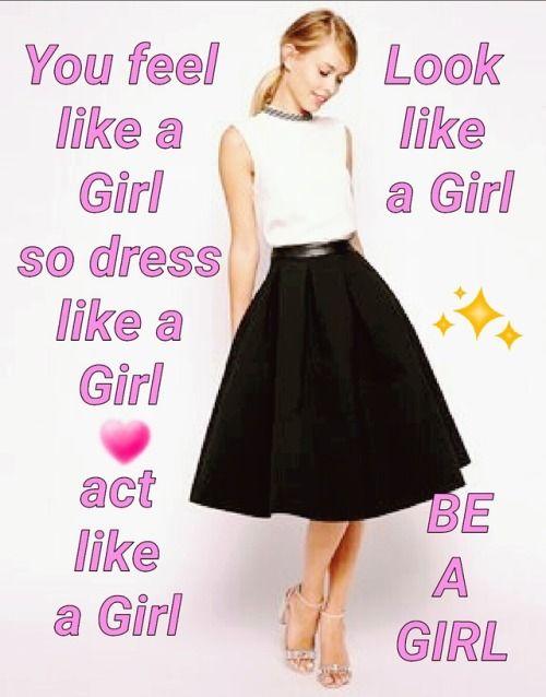 I am a sissy girl