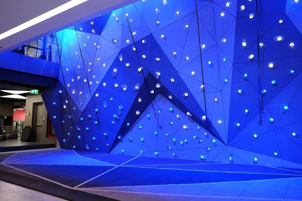 Neoflex High Impact Tiles with Graphics for Climbing Wall Area ...
