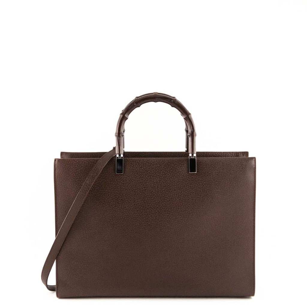 5acea0e2e38 Gucci Brown Bamboo Top handle - LOVE that BAG - Preowned Authentic Designer  Handbags -  700 CAD