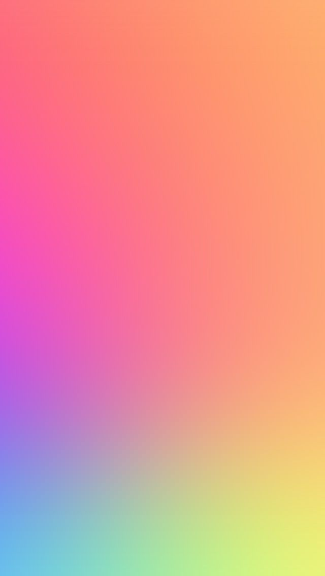 Sg87 Rainbow Color Soft Gradation Blur Abstract Wallpaper Solid