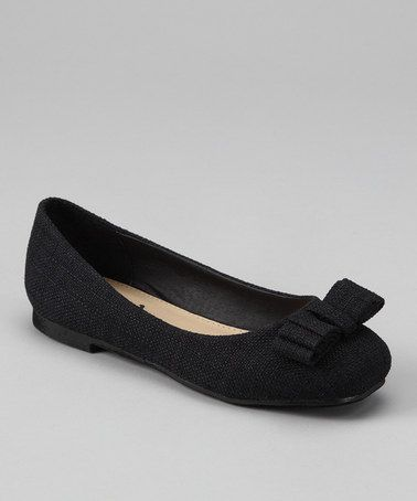 Take a look at this Black Joby Ballet Flat by Dotty Shoes on  zulily today 1b3d73f0f29d