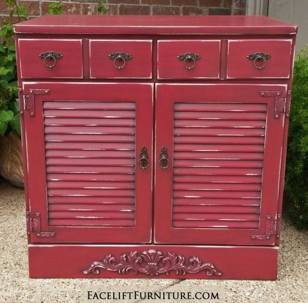 Painted Wood Furniture And Cabinets: Painted, Glazed & Distressed