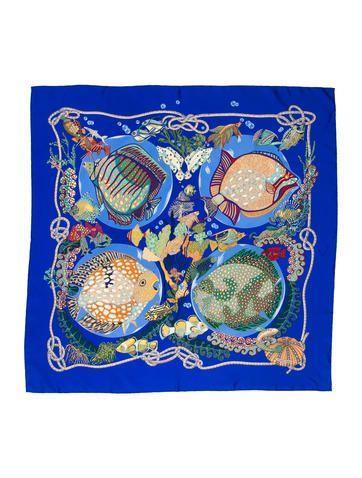 Grands Fonds Silk Scarf. Grands Fonds Silk Scarf Carré Hermes, Echarpe ... 20e02969b30