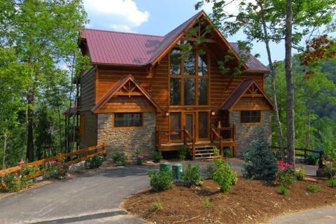 Best 25 cabin rentals in tennessee ideas on pinterest for Best mountain view cabins in gatlinburg tn