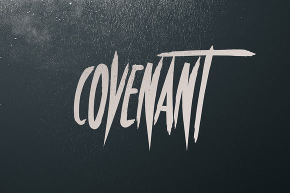 Covenant - Brush Font by Tugcu Design Co. on Creative Market