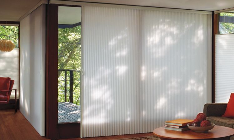 Horizontal Blinds For Sliding Glass Doors Goodworksfurniture In 2020 Sliding Glass Doors Patio Sliding Glass Door Window Treatments