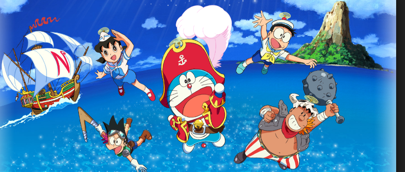 Watch Doraemon the Movie: Nobita's Treasure Island Full-Movie Streaming