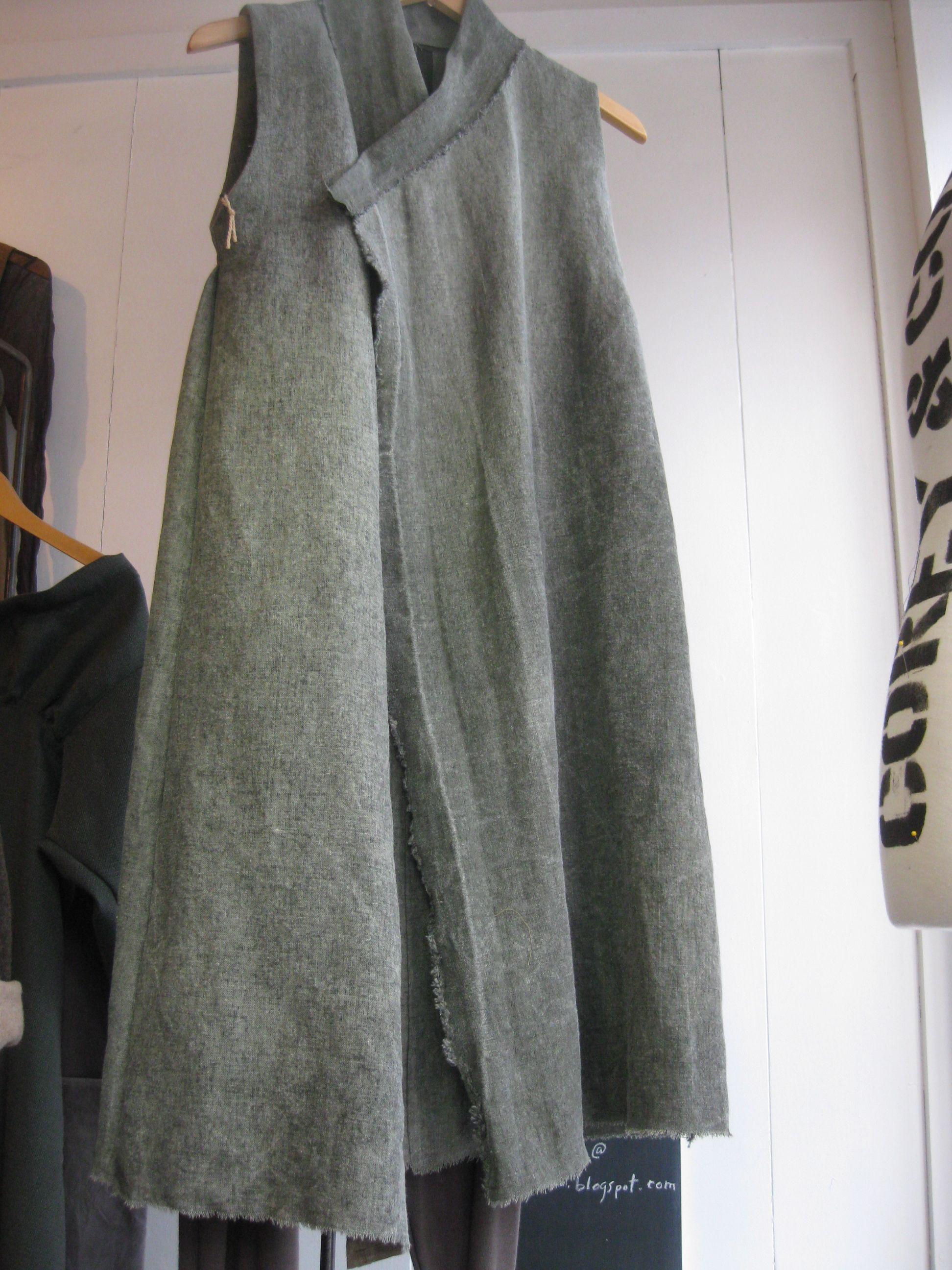 corey heavy linen tunic