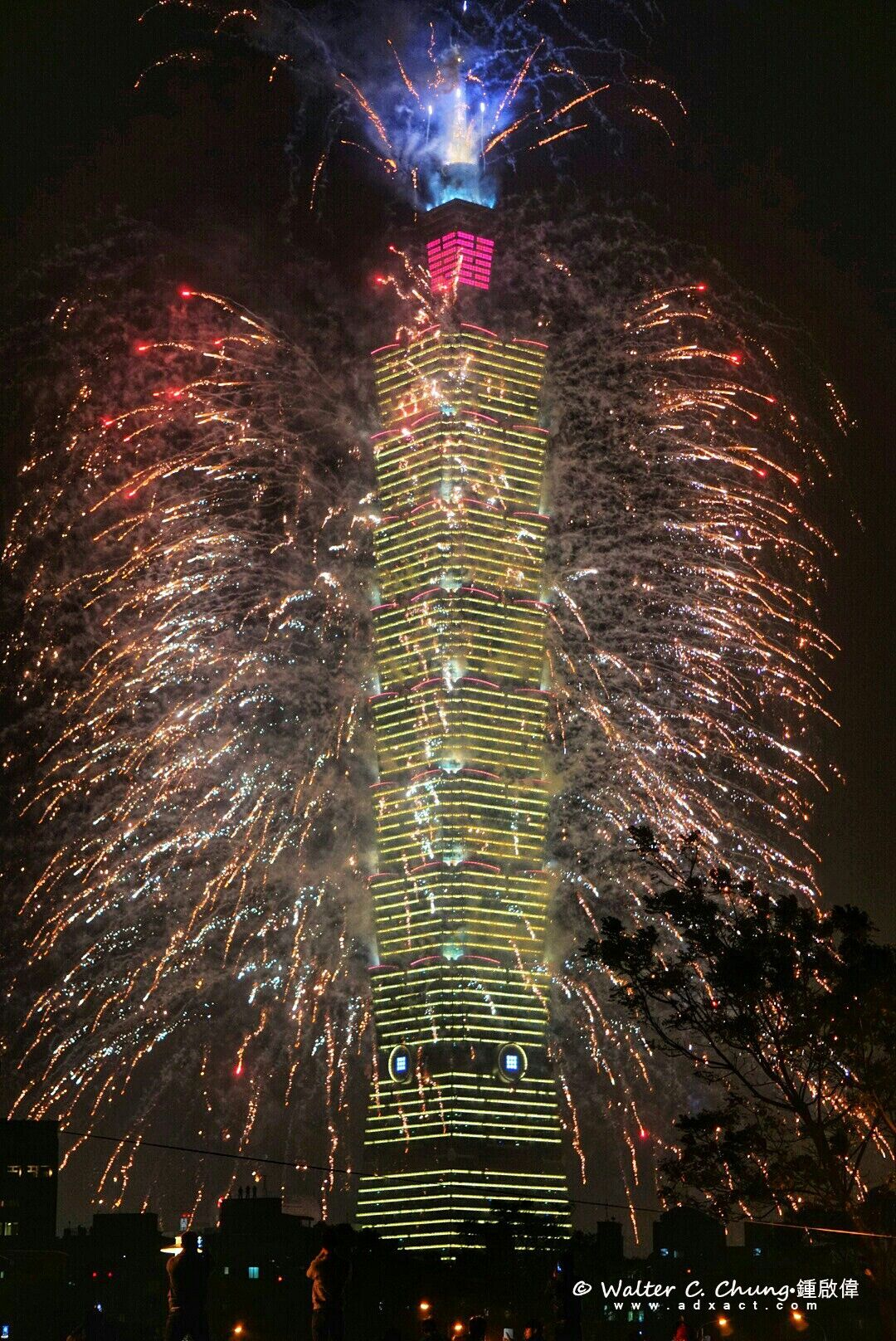 """""""From Taipei, Taiwan, Happy New Year!"""" #traveltaiwan #2014 (photo by Walter Chung)"""