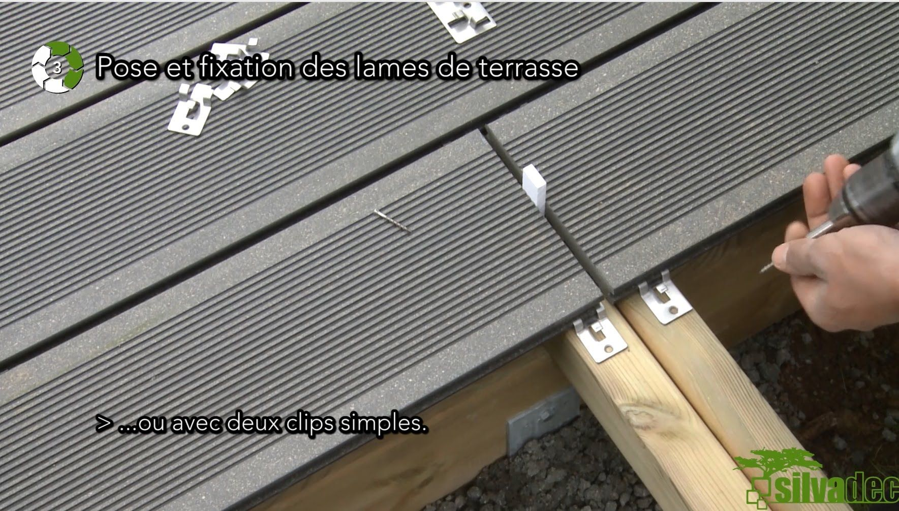 Installation Of Composite Wood Decking Cladding Fencing Silvadec Deck Construction Wpc Decking Deck