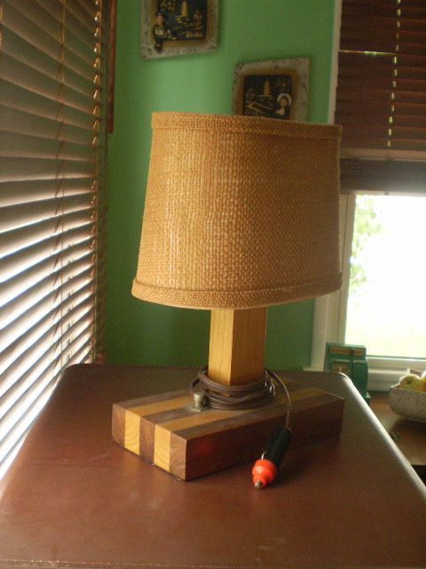 This Item Is Unavailable Table Lamp Vintage Rv Wood