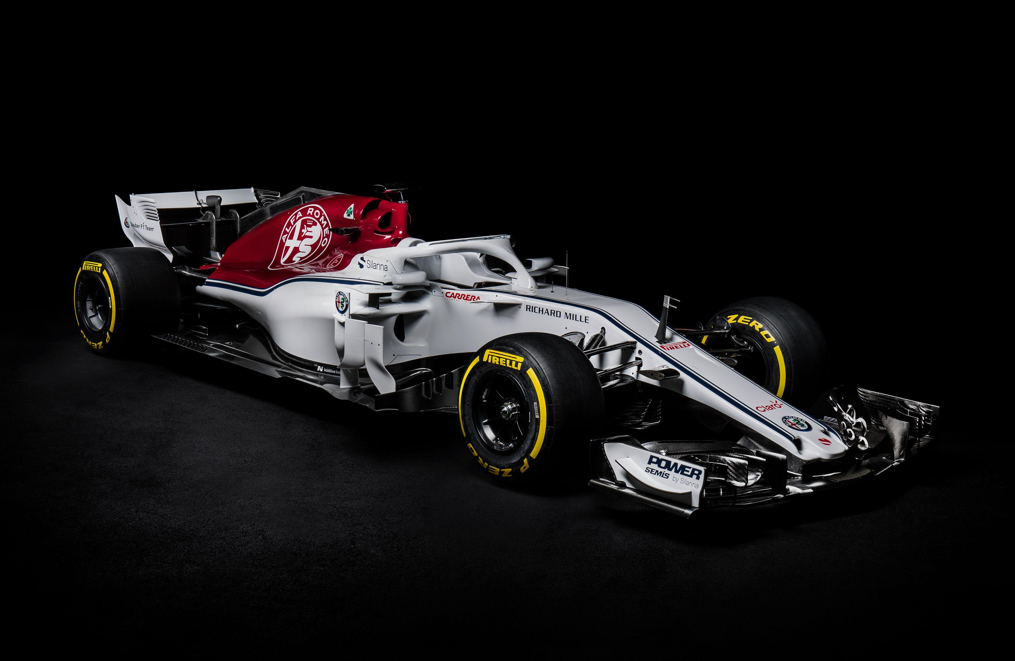 "Wallpaper Sauber C37 Alfa Romeo F1 2018 Formula 1 F1: 20-Feb > Der Neue ""Alfa Romeo Sauber C37"""