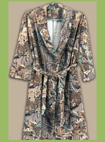 749738d8ff Realtree licensed advantage camo pattern his or hers adult robes ...