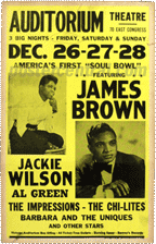 James Brown, Jackie Wilson, Al Green, etc America's first