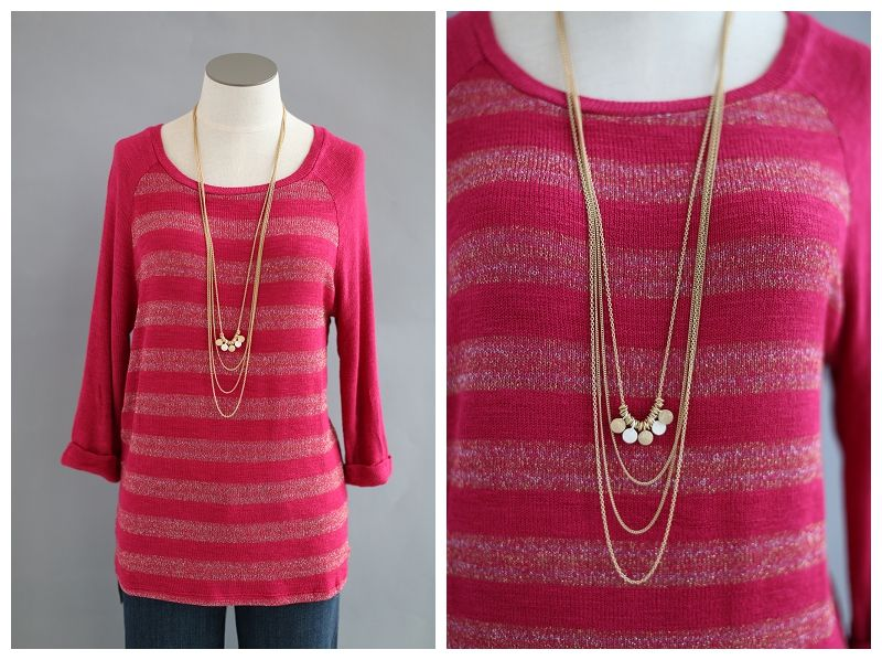 Necklace: Retail Price: $29 MODE Price: $9.99 Visit our stores at www.shopmodestore.com