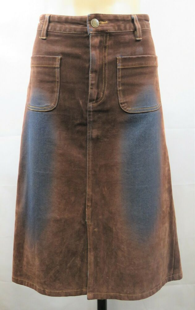 Grunge Fashion Denim Skirt