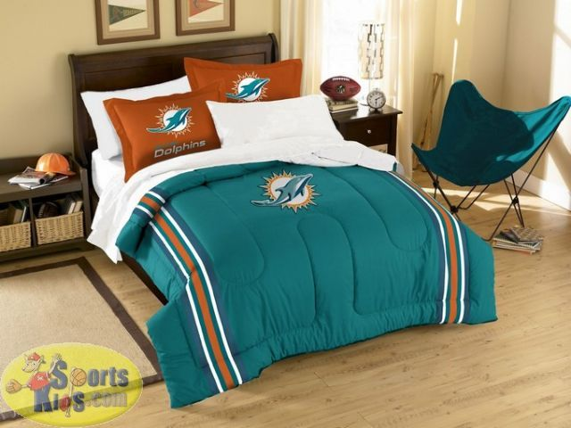 Northwest Nfl Miami Dolphins 3 Piece, Miami Dolphins Crib Bedding Sets