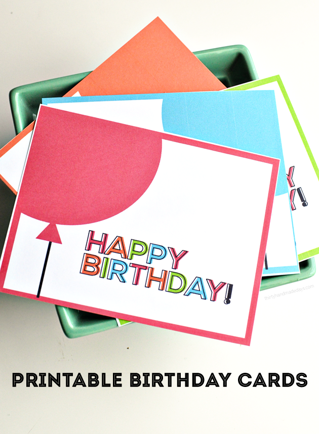 Printable Birthday Cards All Time Favorite Printables Pinterest