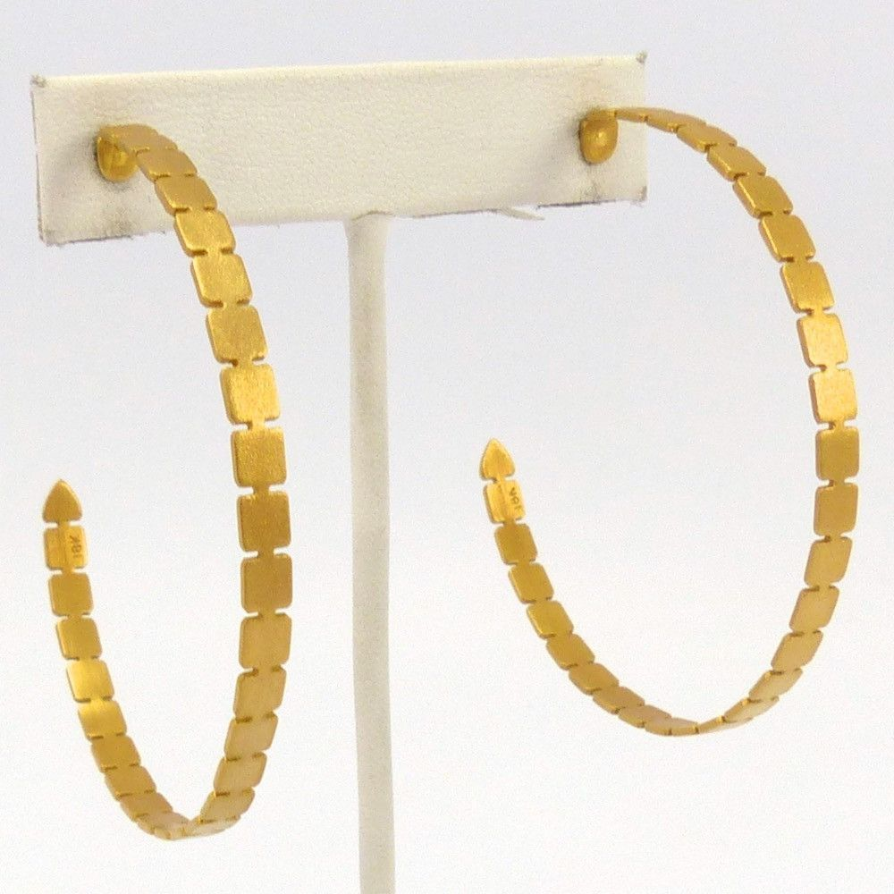 Gold Starlight Hoop Earrings