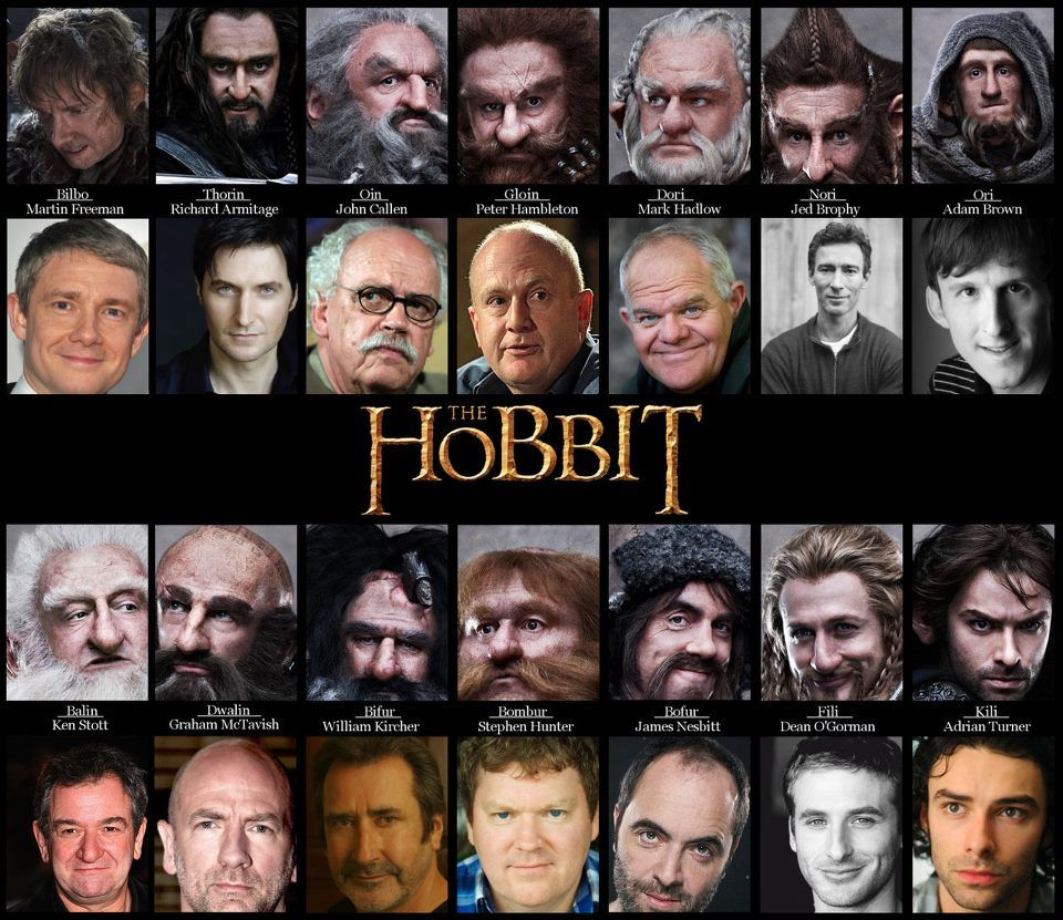 Hobbit Withdrawal! Dwarves.. DWARVES EBERYWHERE!
