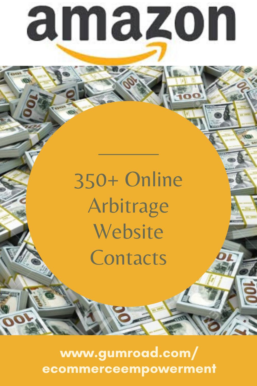350 Online Arbitrage Website Contacts Online Arbitrage Amazon Fba Business Amazon Seller