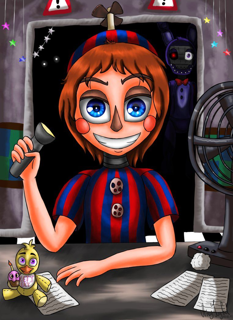 Balloon Boy Five Nights At Freddy S 2 By Artyjoyful Balloons Never Bothered Me Anyway P Com Imagens Desenhos Animados Para Desenhar Desenhos Desenhos Animados