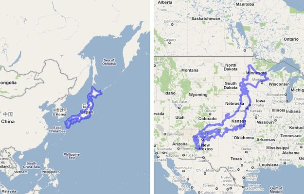 Maps That Will Help You Put The United States In Perspective - Map of us and japan