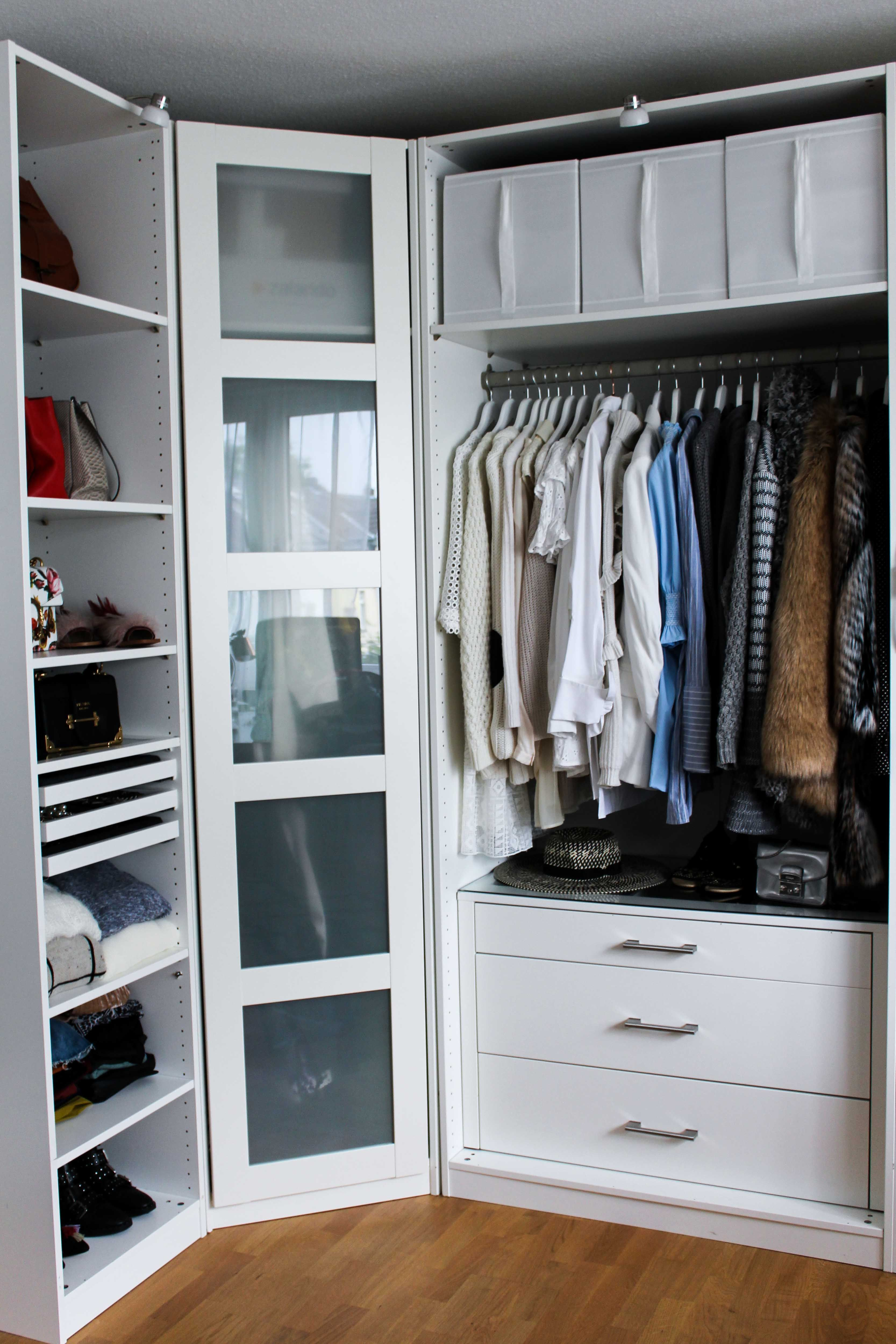 mein ankleidezimmer tipps f r den pax kleiderschrank closet pinterest garde robe deco. Black Bedroom Furniture Sets. Home Design Ideas