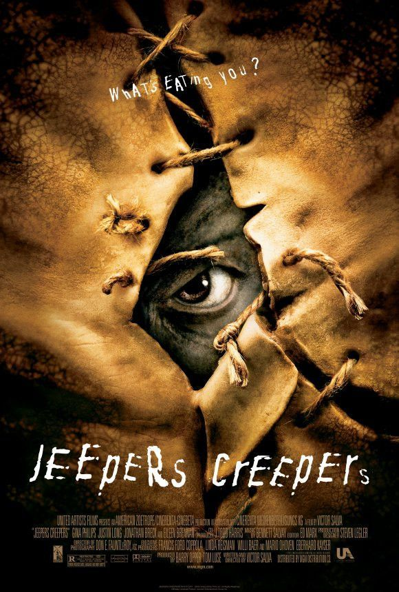 Jeepers Creepers 27x40 Movie Poster 2001 In 2020 Best Horror