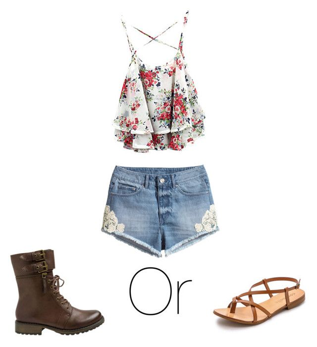 """Summer Day"" by elisabethgrac on Polyvore featuring H&M, Yellow Box and Cocobelle"