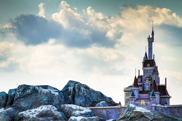 Beast Castle Magic Kingdom