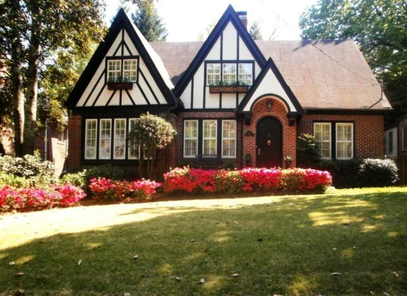 Atlanta Neighborhood Of The Week Garden Hills Tudor Style Homes Tudor House House Exterior