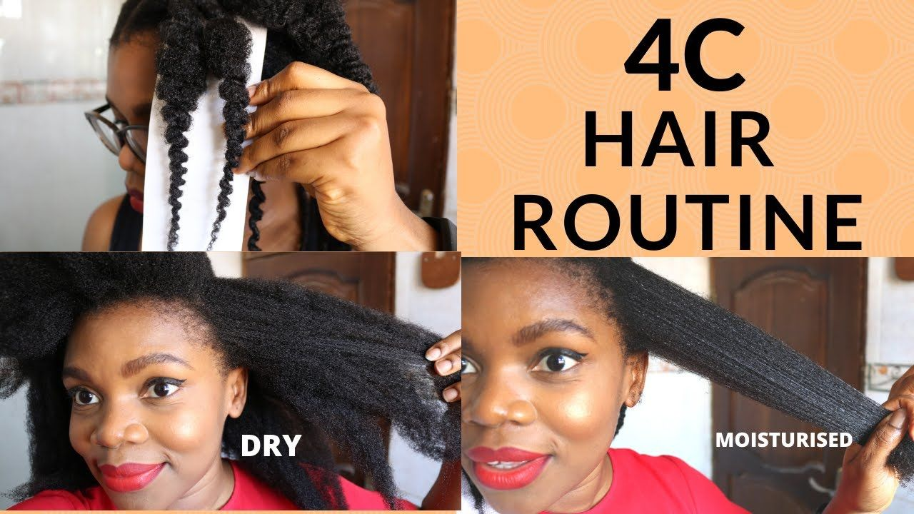 New 4c Hair Routine Wash Day 2020 How To Stretch 4c Natural