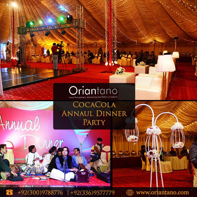 Awesome Annual Dinner Party Part - 3: CocaCola Annual Dinner Party # Oriantano # EventManagement For Contact