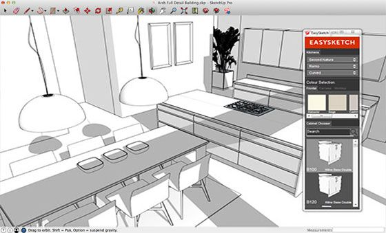 John Atkinson Is The Developer Of EASYSKETCH Kitchen Design Plugin. This  Sketchup Extension Is Compatible With SketchUp SketchUp SketchUp 2014 And  SketchUp