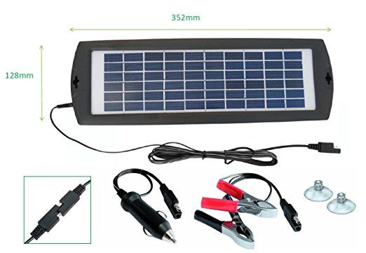 Amazon Com Sunway Solar Battery Trickle Charger And Maintainer 15v 3w Portable And Backup For 12v Rechargeable Battery Of Car Solar Car Solar 12v Solar Panel