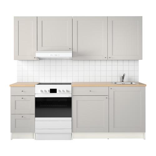 KNOXHULT Küche, grau | Grau, Armaturen und Waschbecken | {Armaturen küche ikea 49}