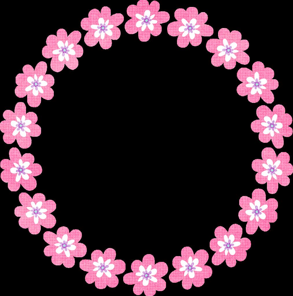 KMILL_floralcircleframe-2.png | FRAMES | Pinterest | Etiquetas ...