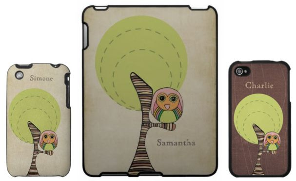 personalized ipad & iphone covers.
