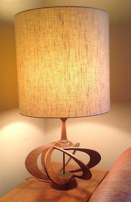 Mid Century Modern Atomic Table Lamp Mid Century Modern Decor