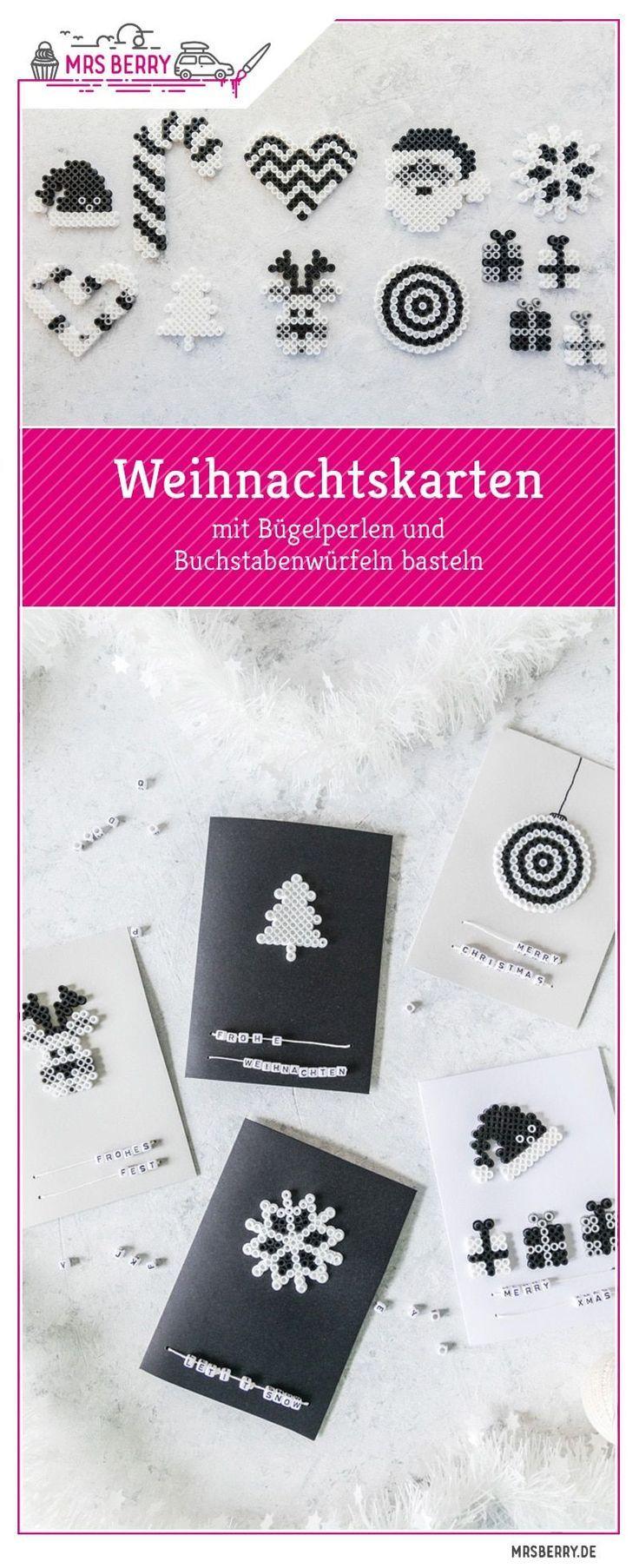 Unglaublich Edle Weihnachtskarten Basteln Sammlung Von