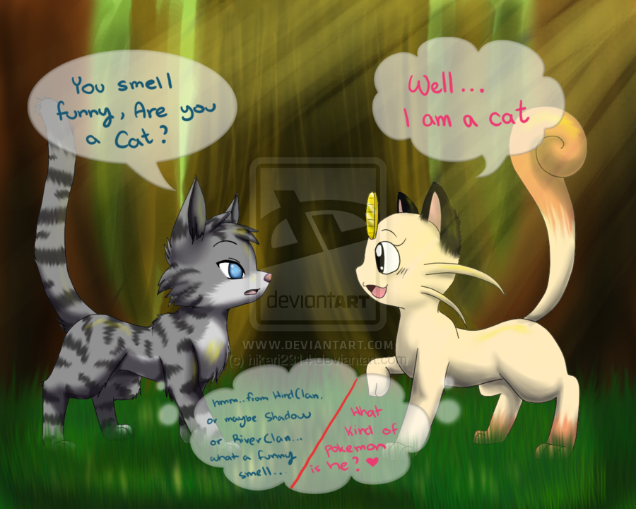 Warrior cats dating show
