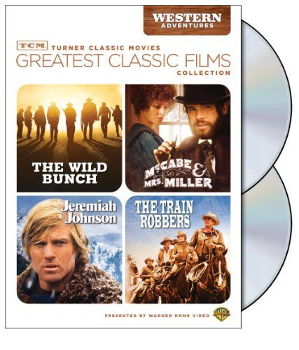 TCM Greatest Classic Films Collection: Western Adventures (The Wild Bunch / McCabe & Mrs. Miller / Jeremiah Johnson / The Train Robbers) Warner Home Video http://www.amazon.com/dp/B001PO55AA/ref=cm_sw_r_pi_dp_Hcegvb1G3T3G8