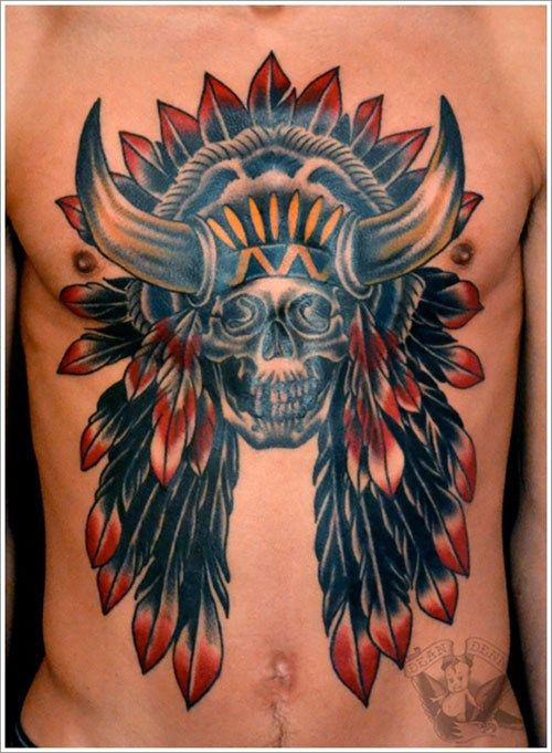 Native American Tattoo Designs And Their Meanings Indianische Tattoos Indianisches Tattoo Tattoos Manner