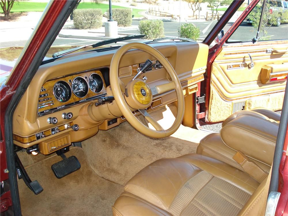 Jeep Wagoneer Interior Google Search Jeep Wagoneer Willys Jeep Jeep Truck