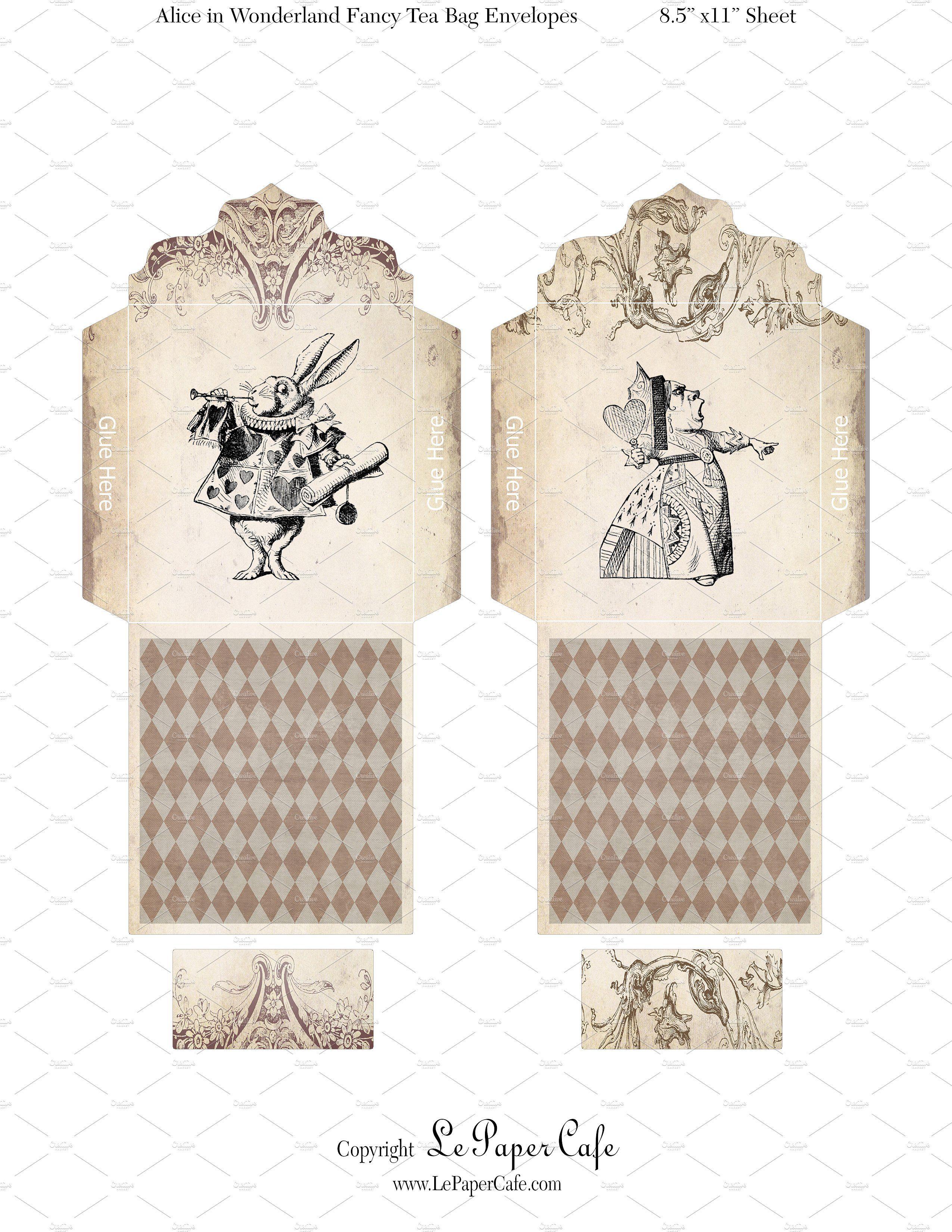 Alice In Wonderland Tea Bags