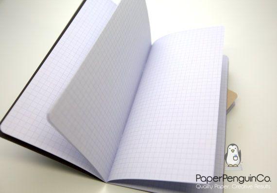 Midori Insert Purple Orchid Travelers Notebook Black Brown Regular