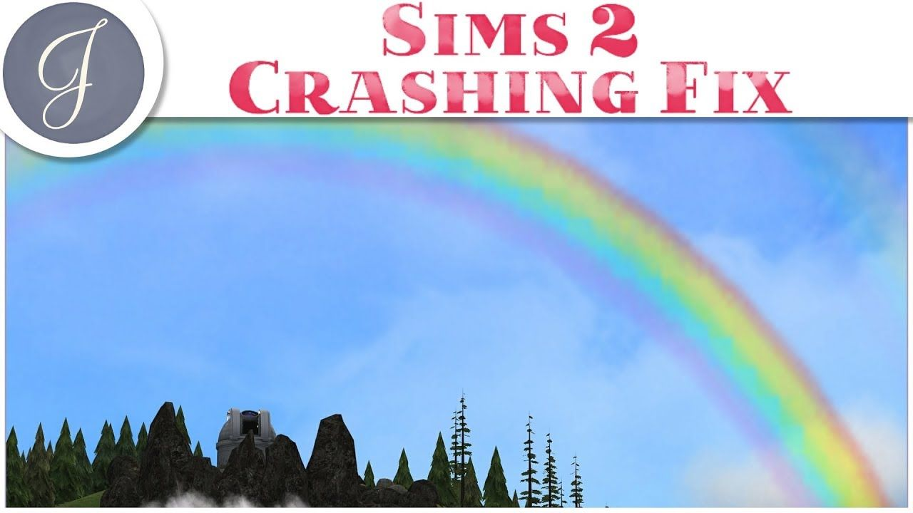 The Sims 2 The Application Has Crashed